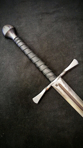 BKS Longsword With Twisted Guard (Blunt)