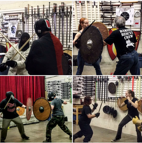 Basic Intro to Sword Fighting Class. GROUP TRAINING PASS