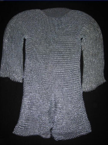 Butted Steel Hauberk