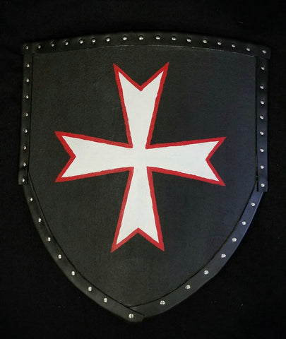 Custom - Hospitaller Cross Heater Shield