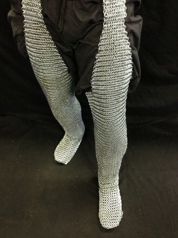 Butted Steel Leggings