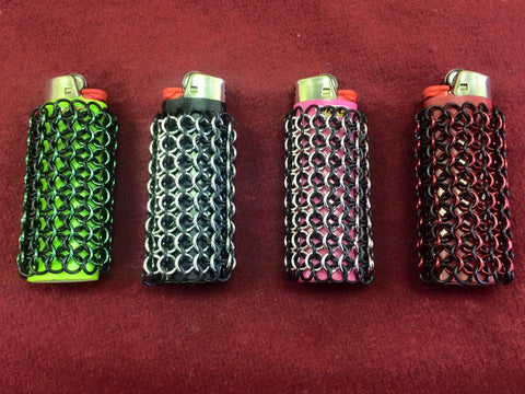 Chainmail Lighter Wrap.