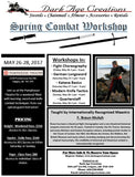 Spring Combat Workshop Sign Up - Saturday Only Pass
