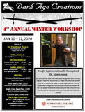 4th Annual Winter Workshop Sign Up - Paige Class Pass