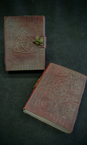 Triquera Leather Journal