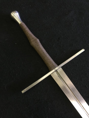 Black Fencer Steel Series Longsword