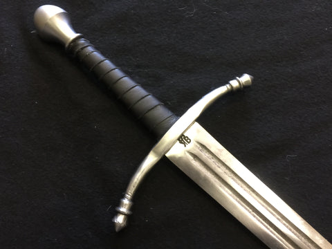 BKS Arming Sword w/ Double fuller and Forged Guard