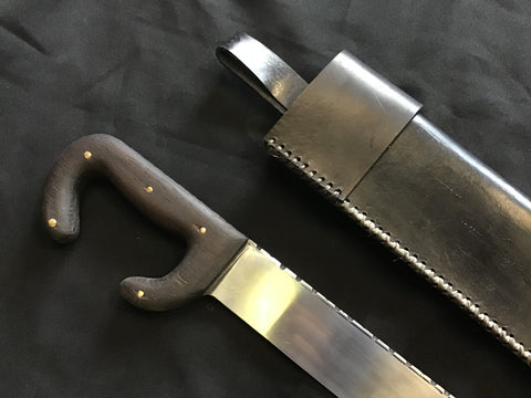 Custom - Kopis with Leather Sheath