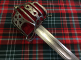 Basket Hilted Broadsword
