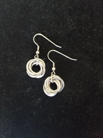 Ear Rings - Mobius Ball