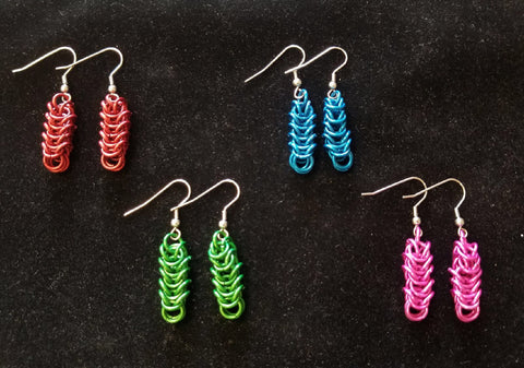 Ear Rings - Anodized Aluminum - BoxChain