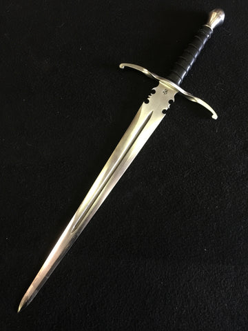 BKS Dagger w/ twisted guard and ricaso. (16 inch)