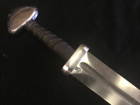 BKS Viking Sword - Single Lobe  (Blunt)