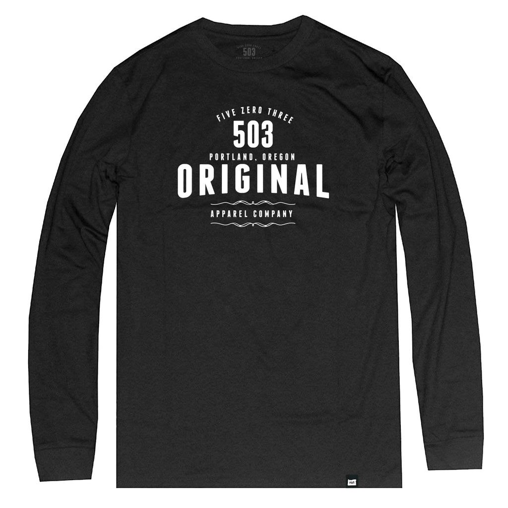 503 OG Long Sleeve Tee - 503 Original Apparel