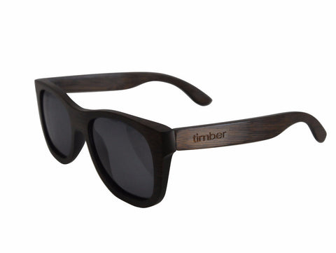 Smoky Bamboo Sunglasses