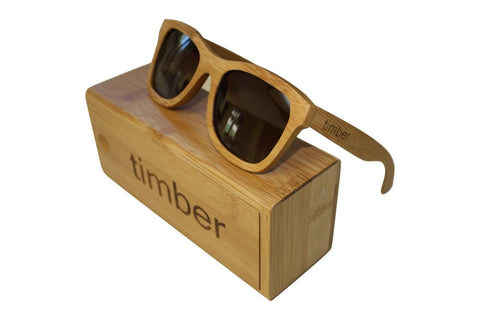 Sunglasses - Roots Bamboo Sunglasses