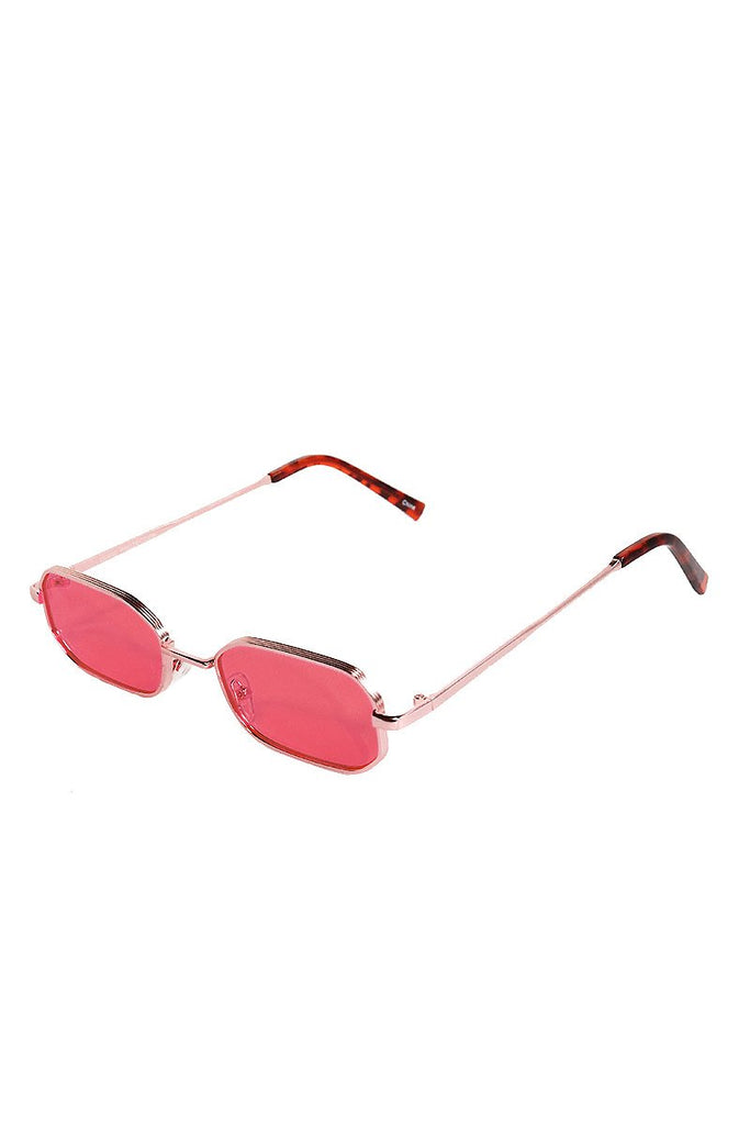 Oval Bono Sunglasses-Pink
