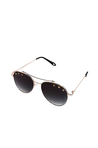 172df57c87 Star Aviator Sunglasses-Black