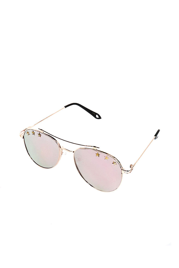 f6988c615b Star Aviator Sunglasses-Silver – Marek+Richard