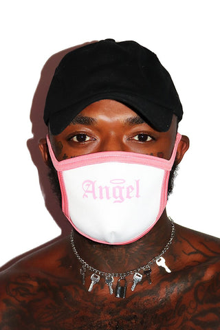 Angel Face Mask- White