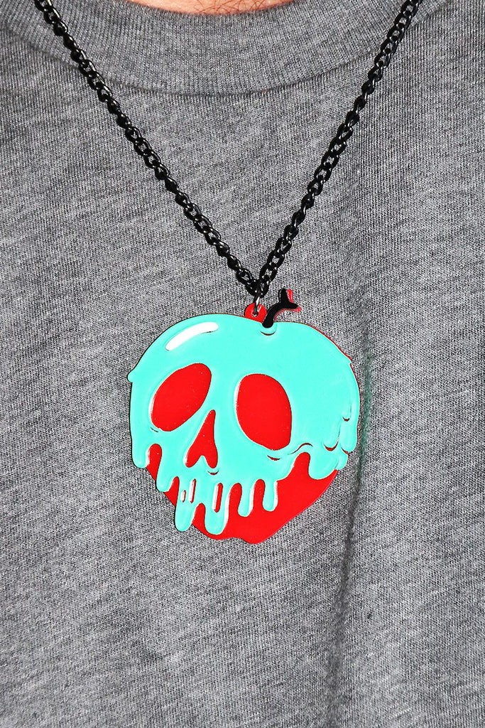 Poisoned Apple Necklace-Red