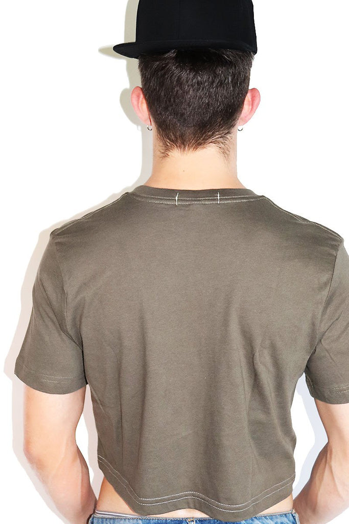 Multipack-Core Crop Tees-Military