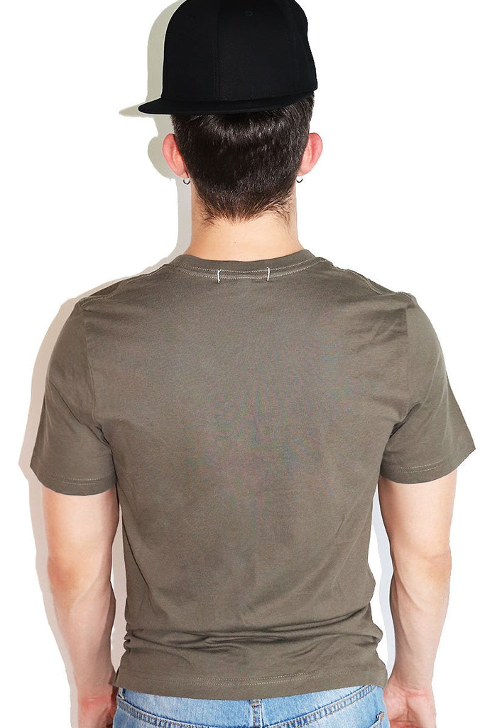 Multipack- Core Crewneck Tees-Military