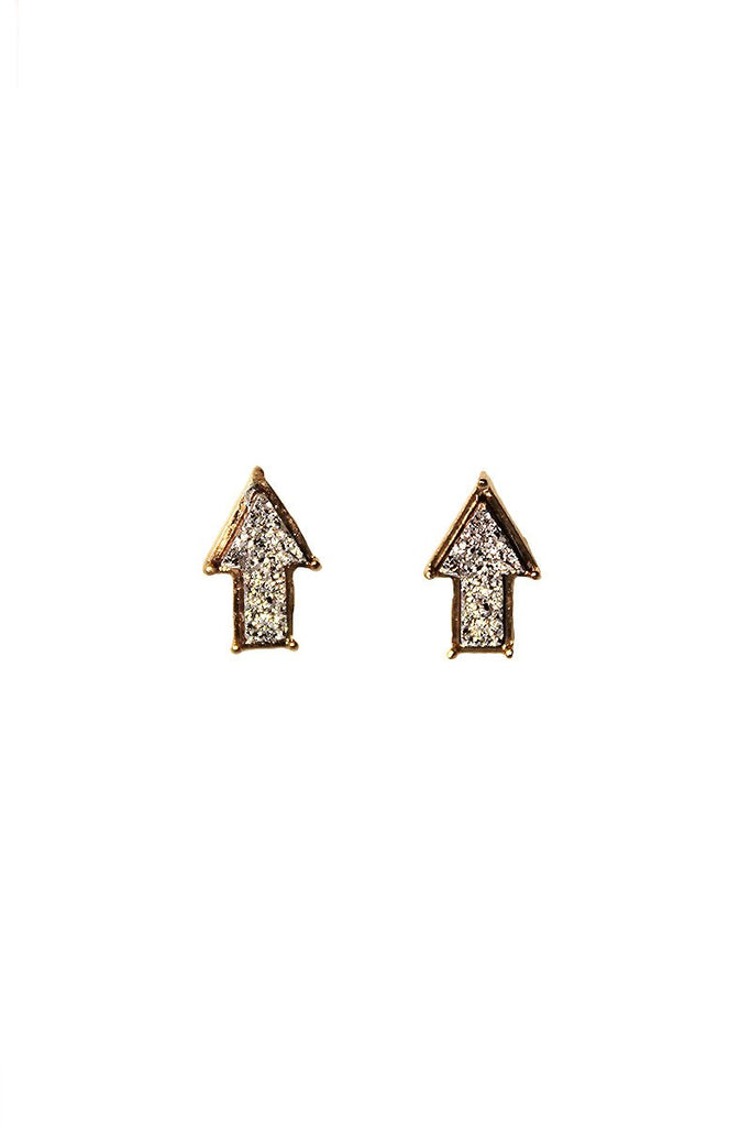 Top Earring Studs-Gold