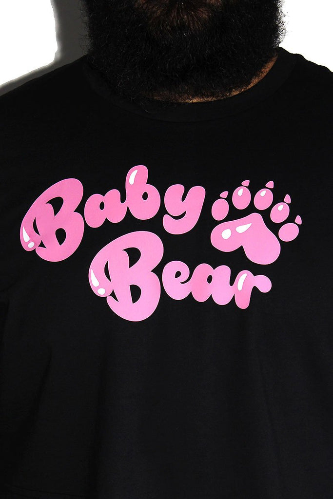 PLUS: Baby Bear Crop Tee - Black