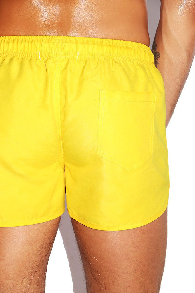 Banana Board Shorts-Yellow
