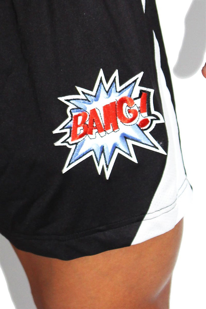 Bang Relaxed Athletic Shorts- Black