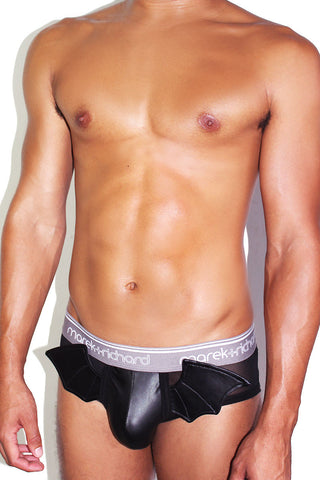 Bat Wing Brief-Black