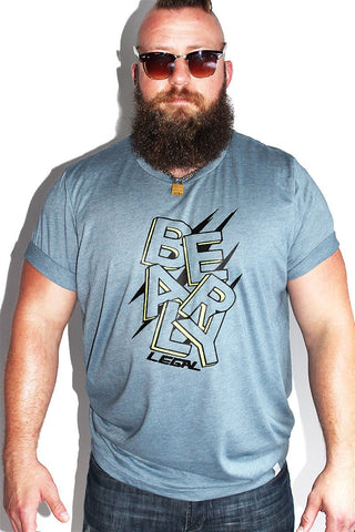 PLUS: Bearly Legal Tee - Grey