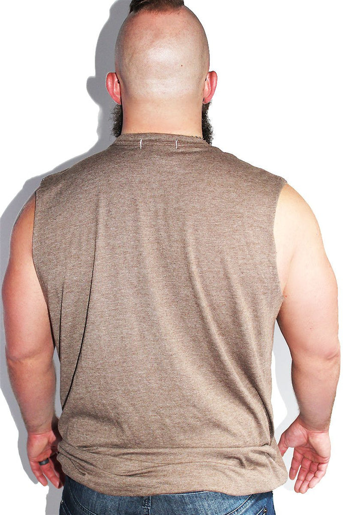 PLUS: Bears Do It Better Sleeveless Tee - Brown