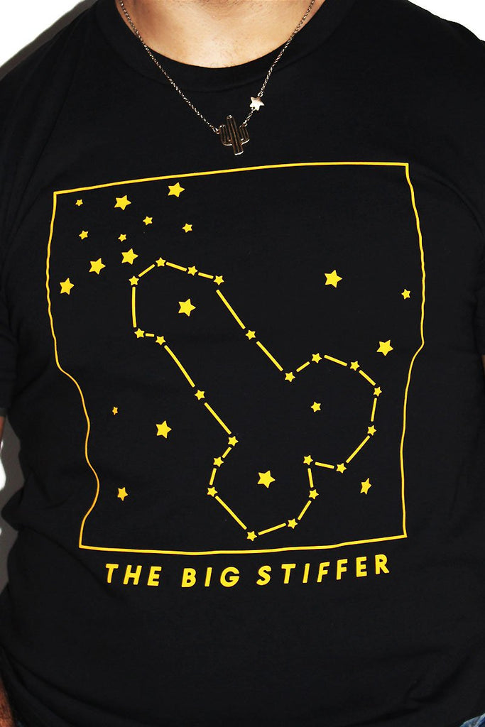 The Big Stiffer Tee-Black