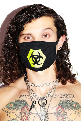 Biohazard Face Mask- Black