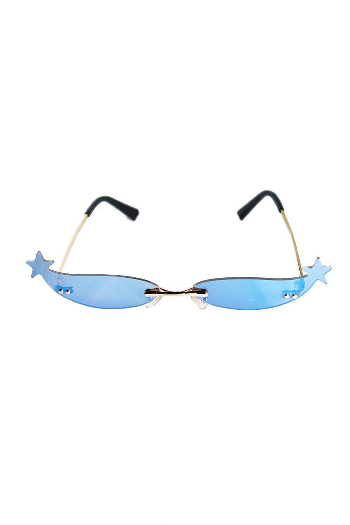 Starry Eye Mini Shade Sunglasses-Black