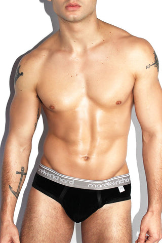 Velvet Brief- Black