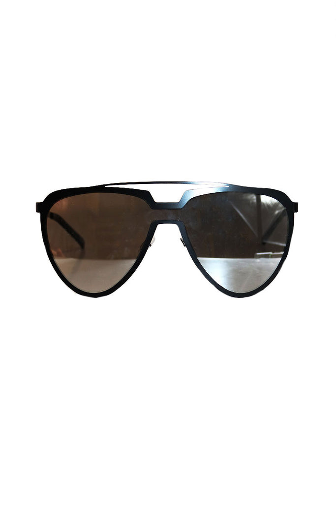 Double Entendre Sunglasses-Black