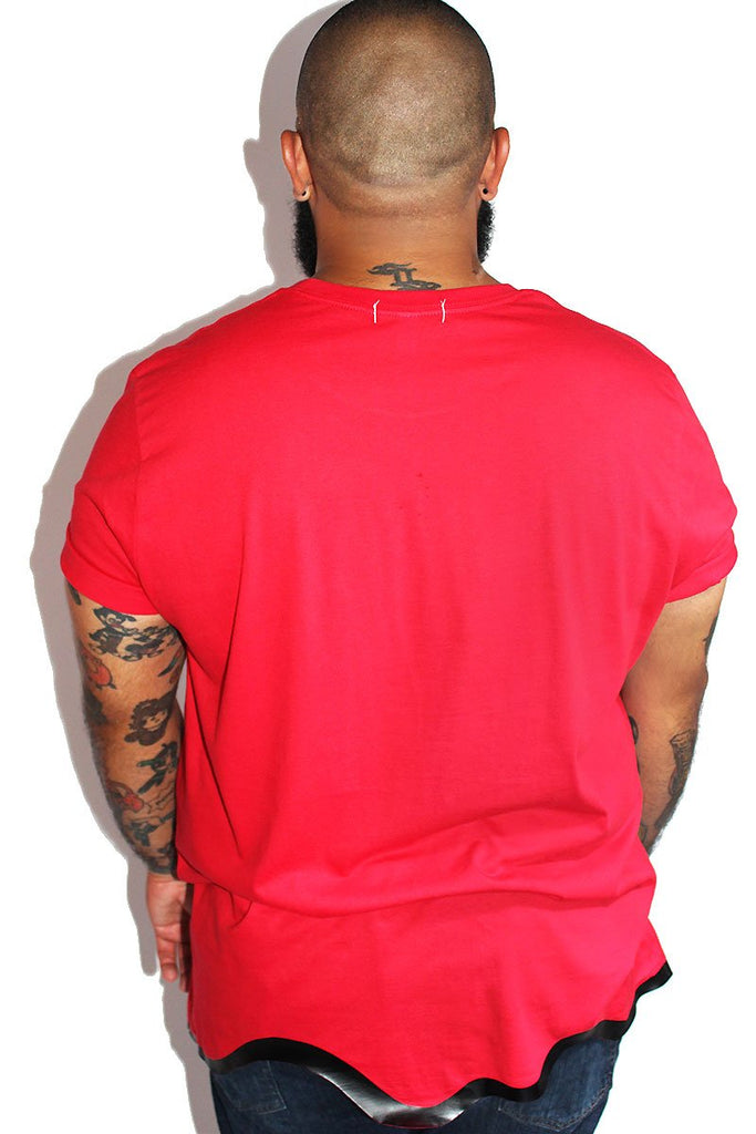 PLUS: Blood Bath Tee-Red
