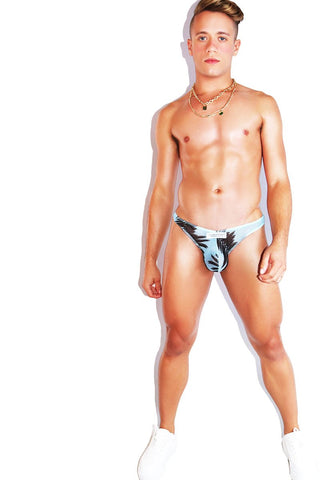 Twink Vintage Lounge Short- Blue