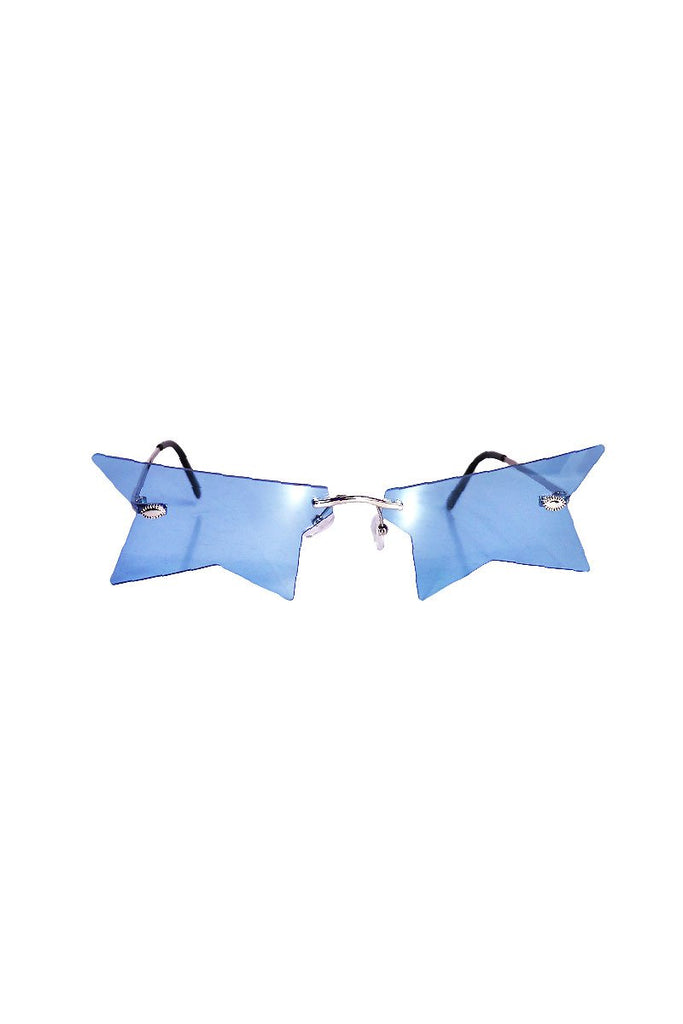 Infamous Star Sunglasses- Blue