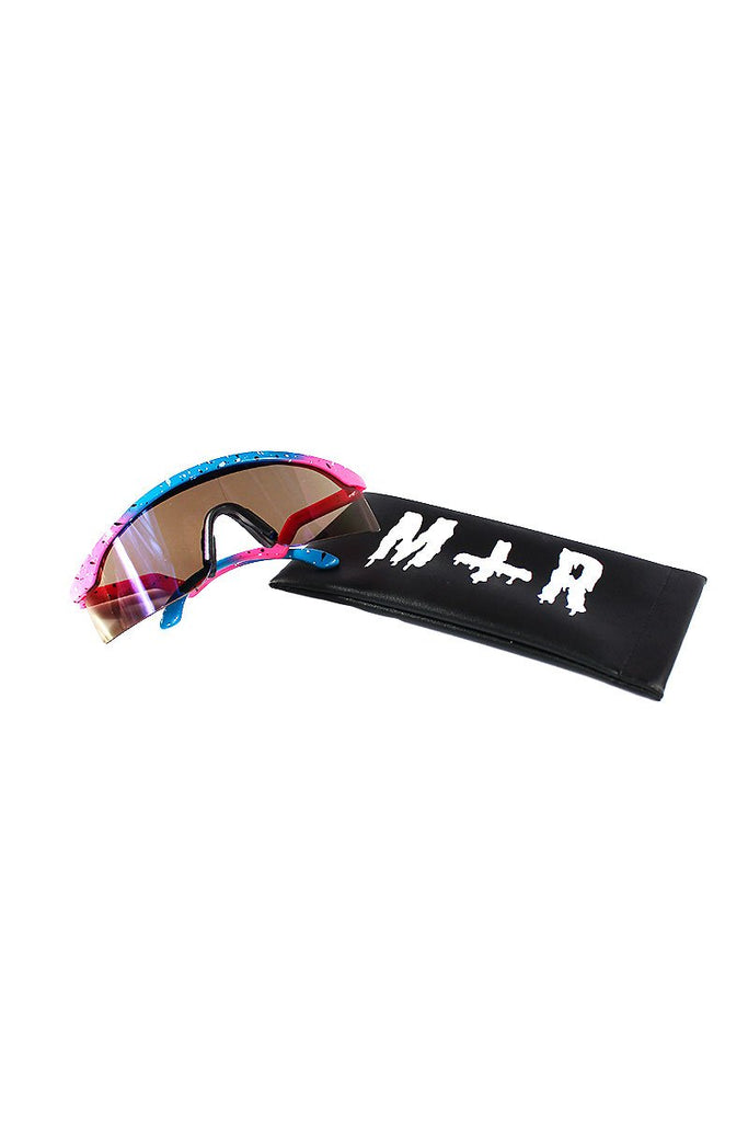 Splatter Ski Shade Sunglasses-Pink