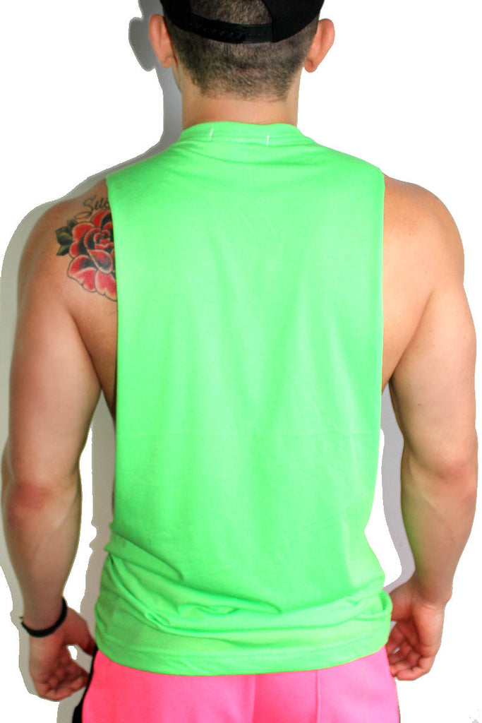 Body ody ody Shredder Tank- Green