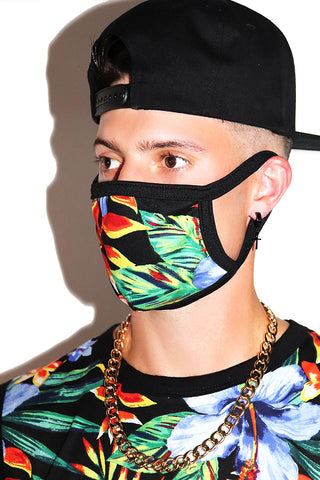 Bird of Paradise Mask- Black