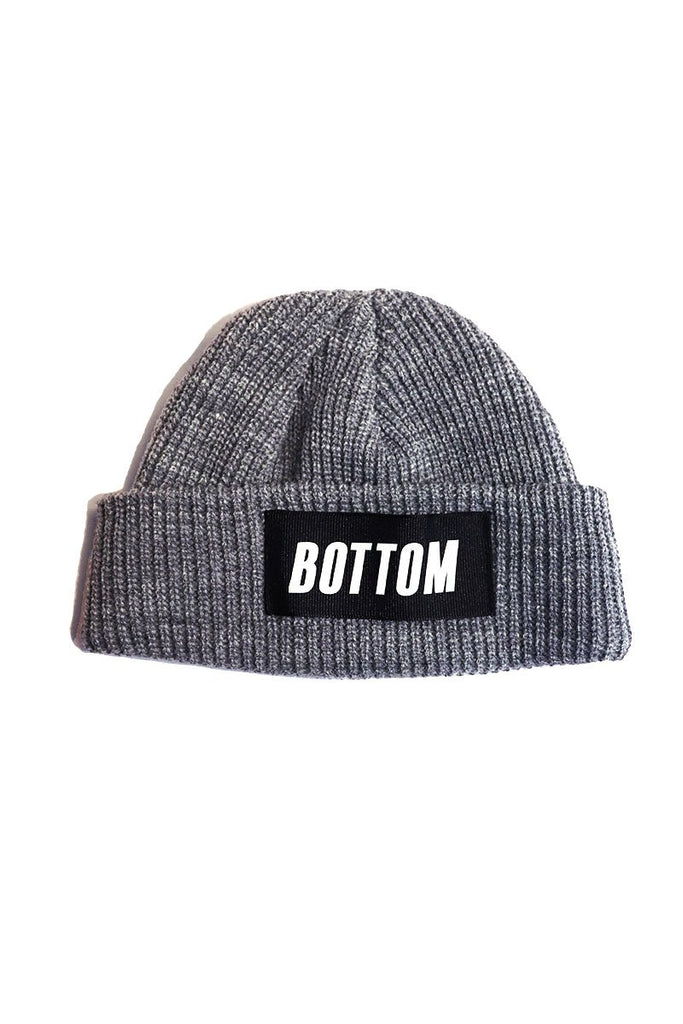 Bottom Skull Cap Beanie- Heather Charcoal