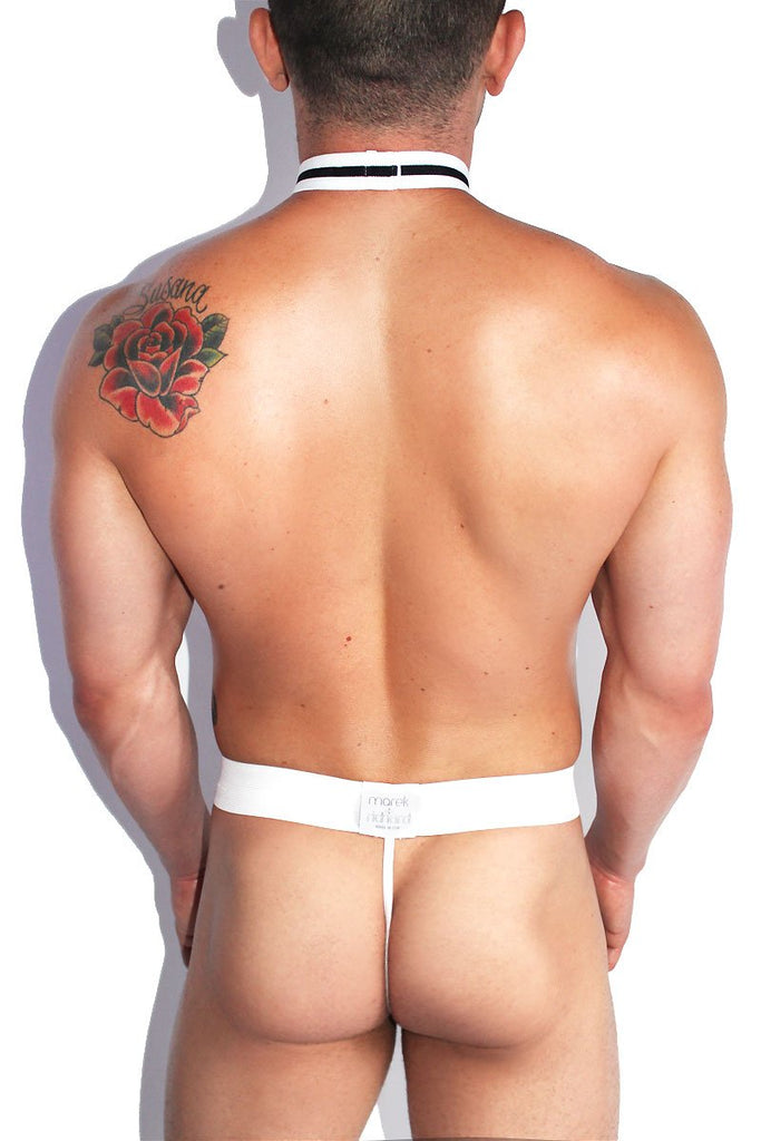 At Your Service Butler Thong- Red