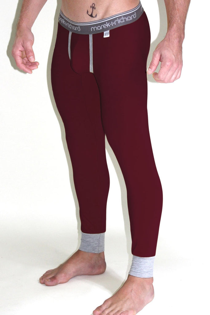 Core Long Johns- Burgandy