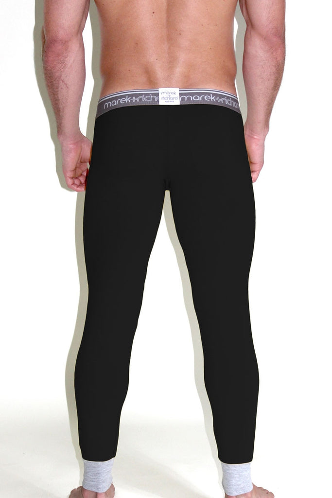 Core Long Johns- Black