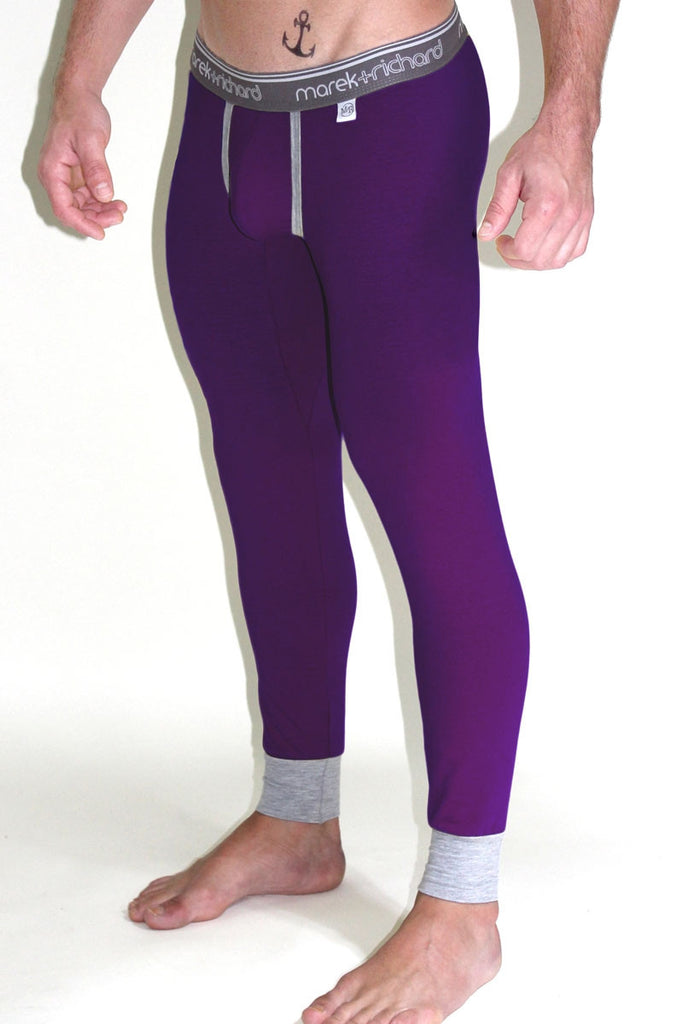 Core Long Johns- Purple